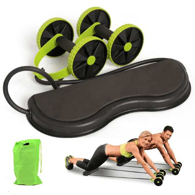 power roller ab trainer